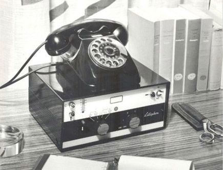 Liliphon: la prima segreteria telefonica automatica (1962) - Liliphon: the first automatic answering machine (1962)
