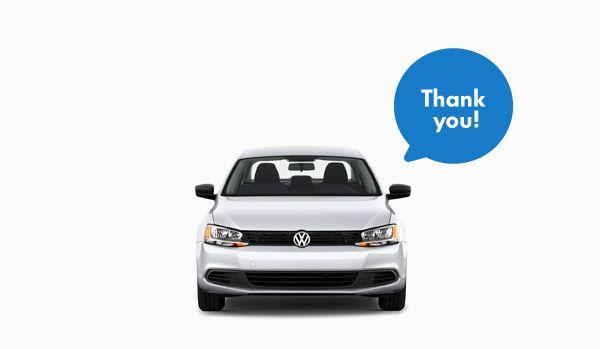 Vw Thank You Volkswagen Car Automotive Design Volkswagen