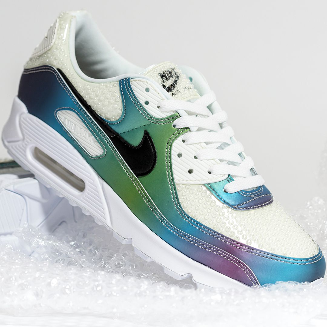 Nike Air Max 90 Bubble Pack in weiss CT5066 100