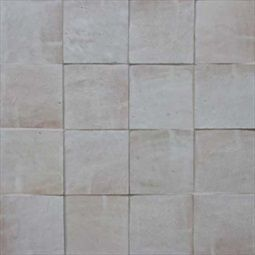Fez Tiles From Morocco In Desert White Color 4 Inch By Square