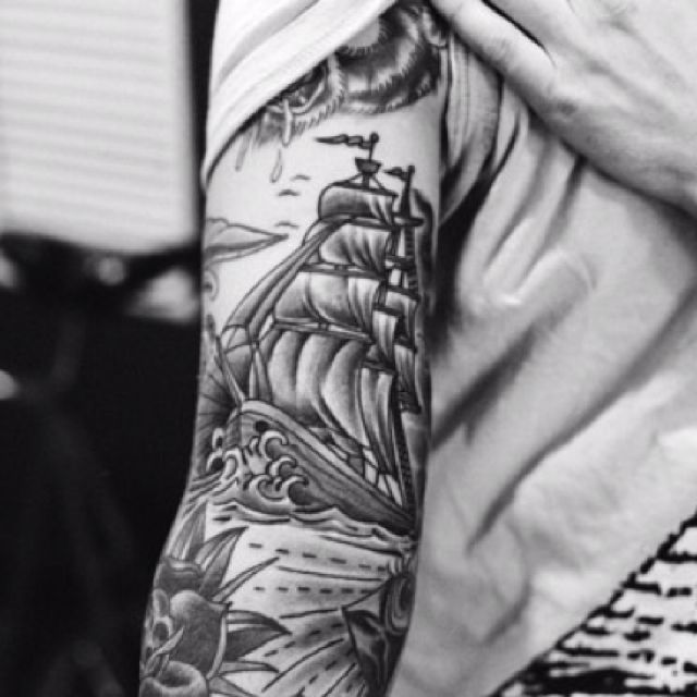 I Want A Sailboat Tattoo (With Images)