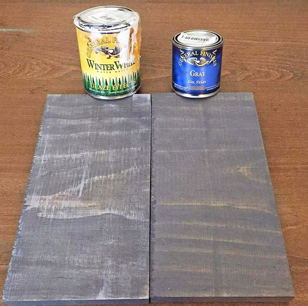 Kitchen cabinets stain glaze - Alchemyhome Shows Off How Gf Gray Gel Stain And Winter White Glaze Effects Can Give You