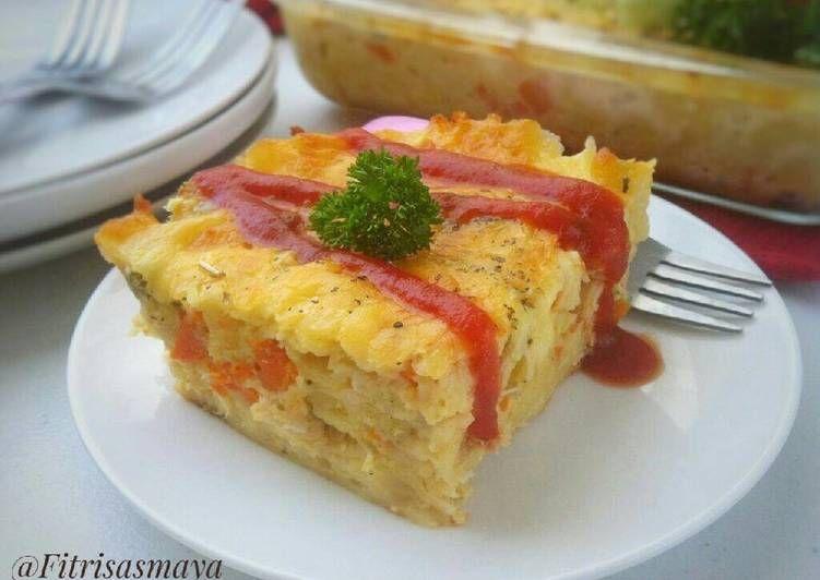Resep Macaroni Schotel Oleh Fitri Sasmaya Resep Makanan Dan Minuman Resep Makanan