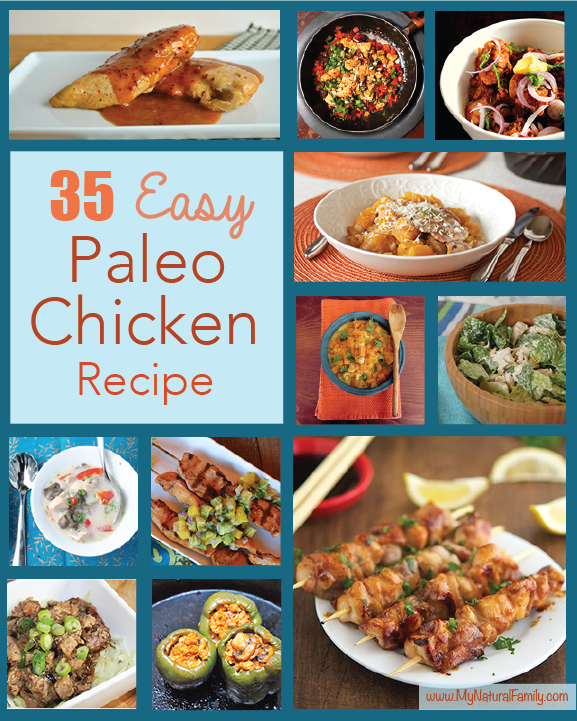 35 Easy Paleo Chicken Recipes