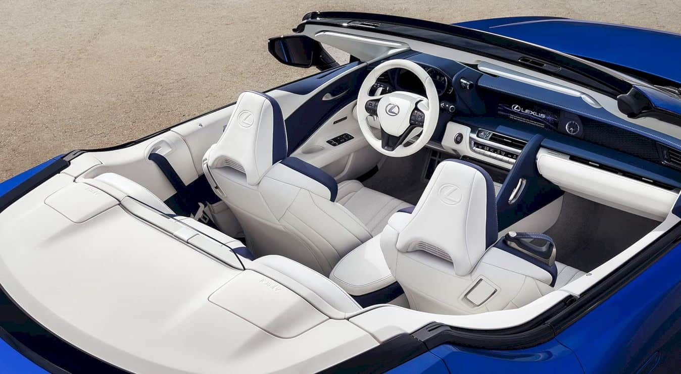 Lexus Lc 500 Convertible Breathtaking Style And Unmatched Refinement In 2020 Lexus Lc Lexus Convertible