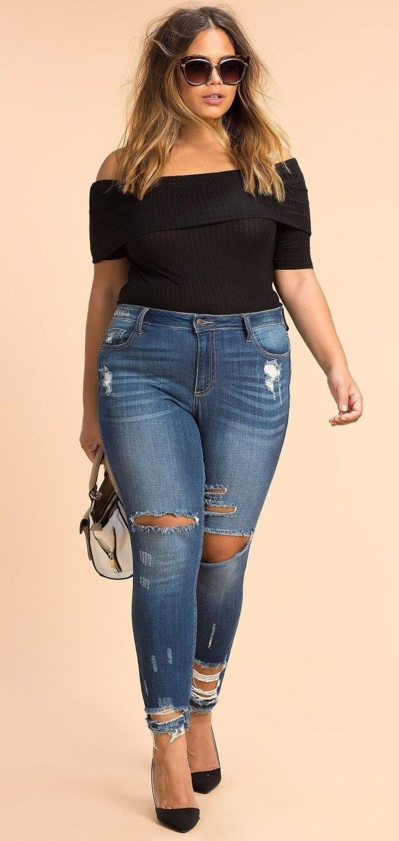 46 Cute Plus Size Summer Outfit Ideas