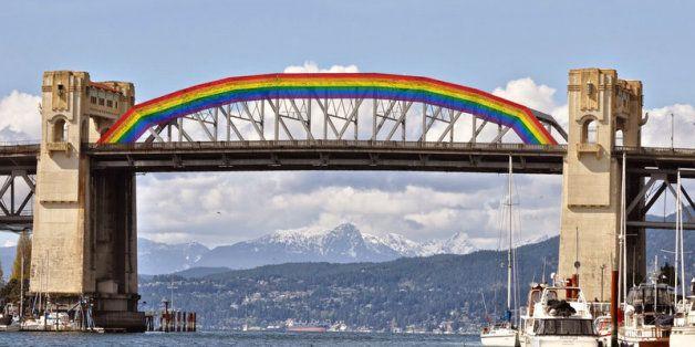 Turning Vancouver Bridge Into Pride Rainbow Is A Fabulous Idea