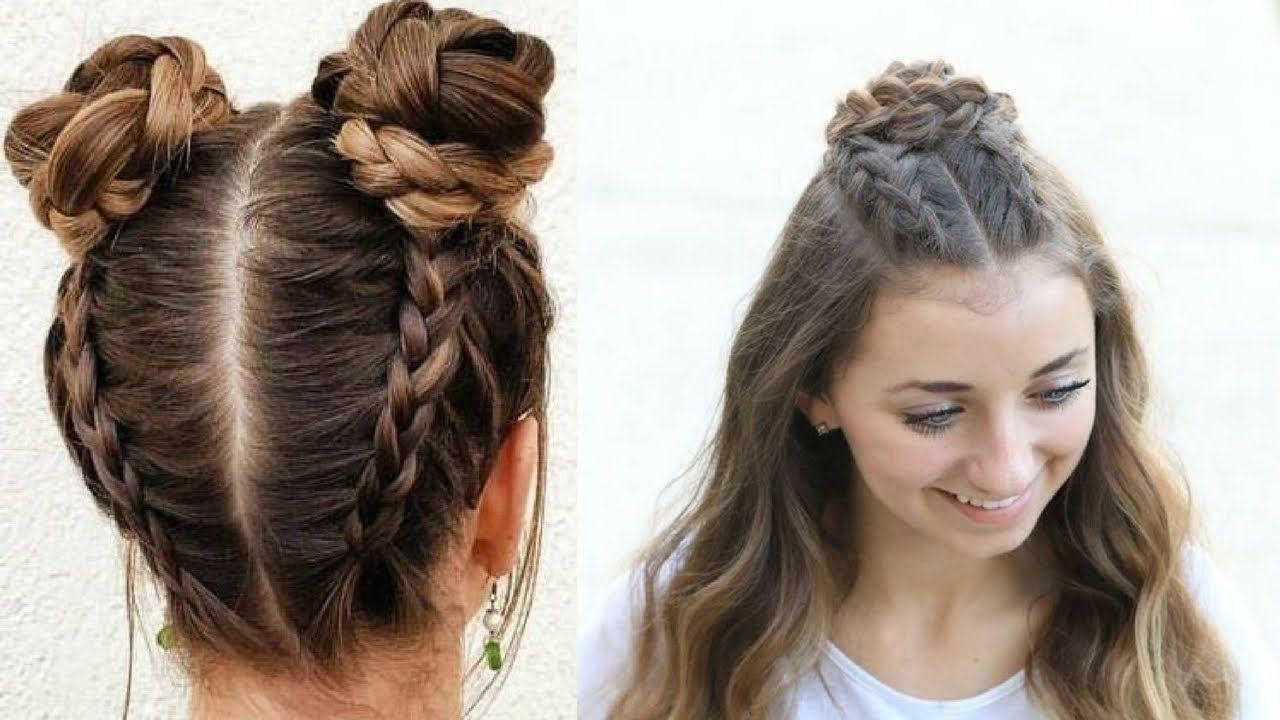 Cute u easy everyday hairstyles quick hair tutorial make