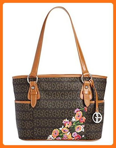 833f411341819 Giani Bernini Floral Block Signature Tulip Tote - Top handle bags ( Amazon  Partner-