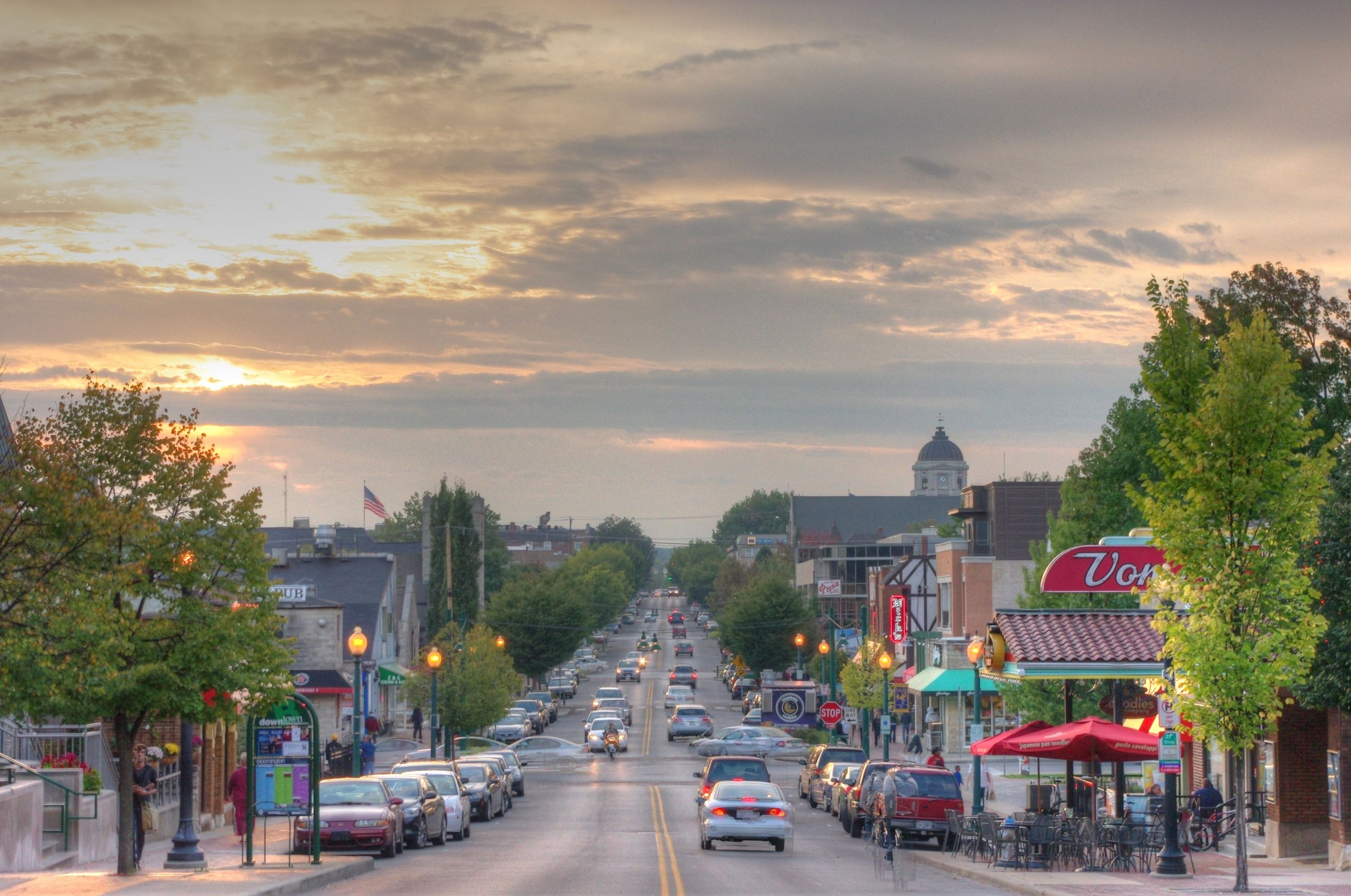 20 Great Small College Towns With Great Quality Of Life Bloomington Indiana Indiana University Bloomington Bloomington