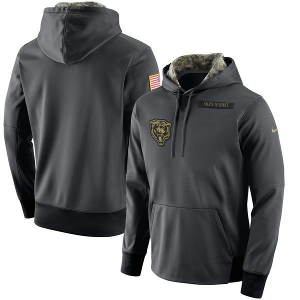 new arrival 856fa 049ba chicago bears salute to service hoodie, 2016 salute to ...