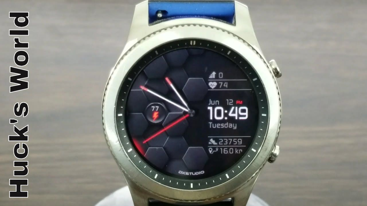 Samsung Gear S3 Analog/Digital Watch Face Download Is A