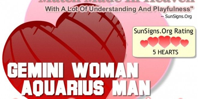 Gemini Woman And Aquarius Man - A Match Made In Heaven