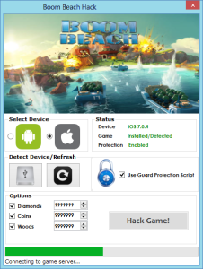 boom beach unable to connect to server
