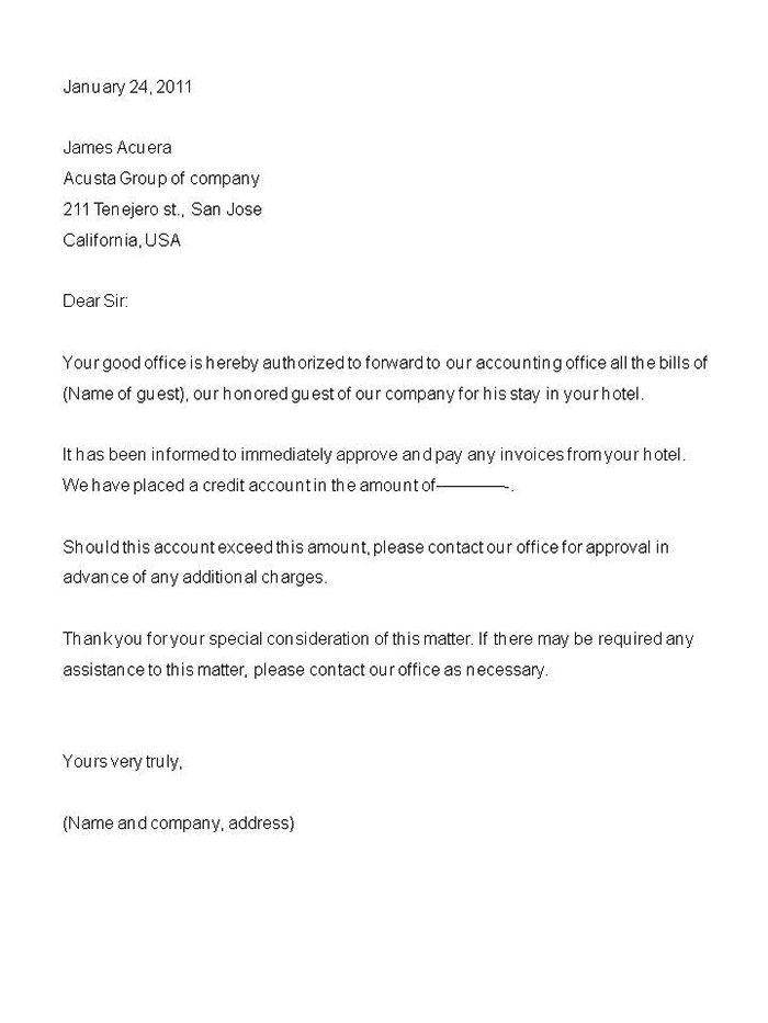 Letter Format Behalf Invitation Russia Authorization Collect