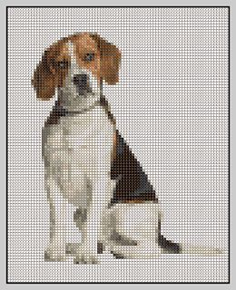 Free Beagle Dog Cross Stitch Pattern Cross Stitch Animals Cross