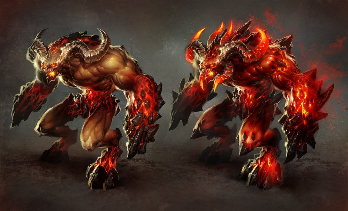 Inferno-Juggernaut by *michalivan