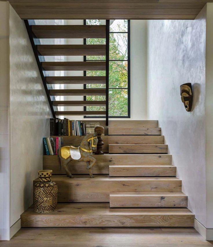 Modern Basement Design #ModernBasementDesign Modern Stairs