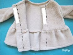Adorable 18 Inch Doll Peplum Coat and Hat FREE Pattern!