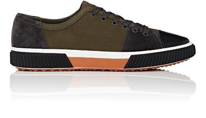 PRADA Colorblocked Low-Top Sneakers.  prada  shoes  all   Prada Men ... da30695f6473