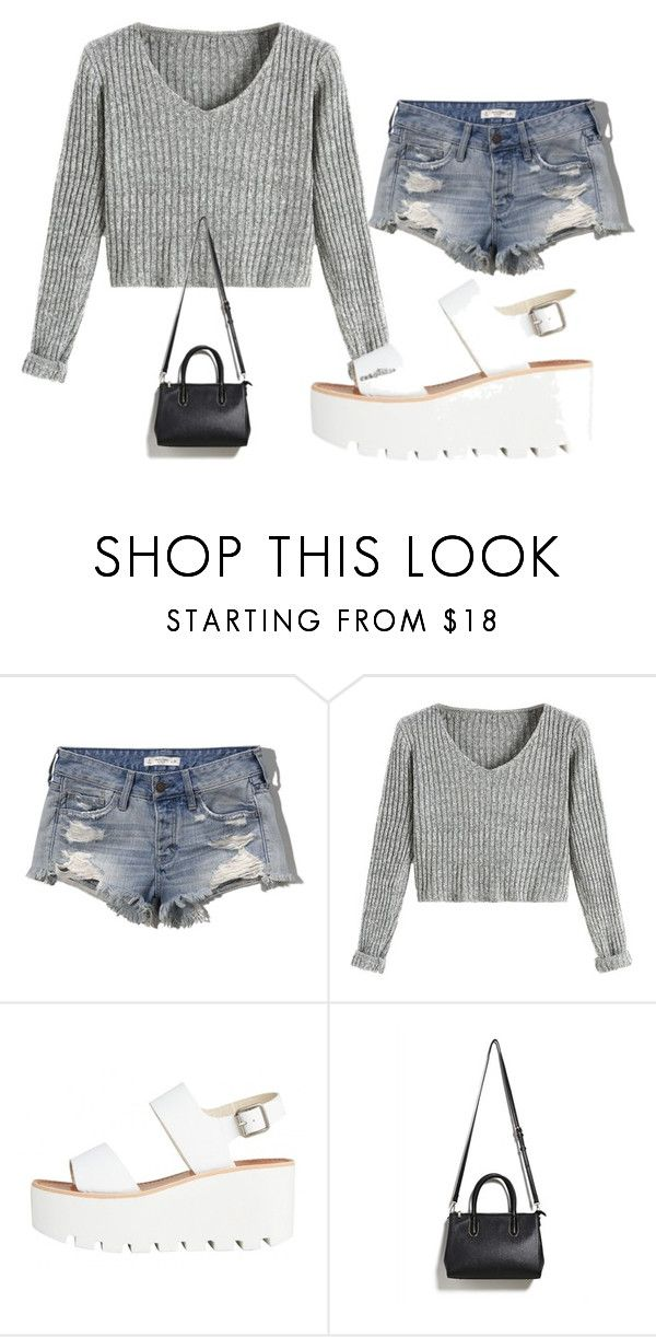"""""""Sin título #1465"""" by belu2879 ❤ liked on Polyvore featuring Abercrombie & Fitch and Forever 21"""