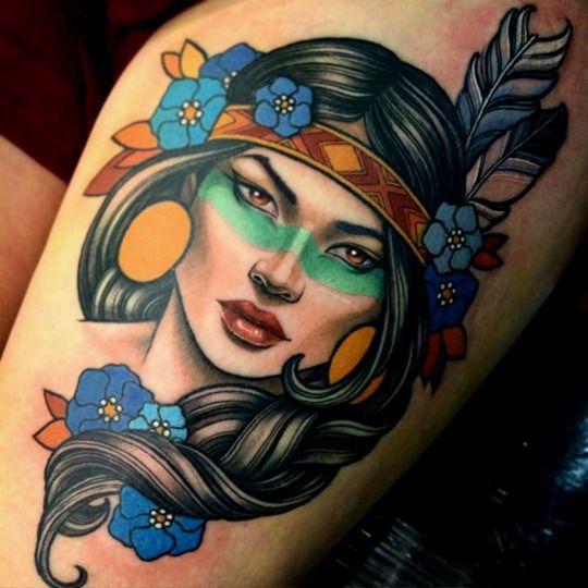 Resultado de imagem para tatuagens coloridas