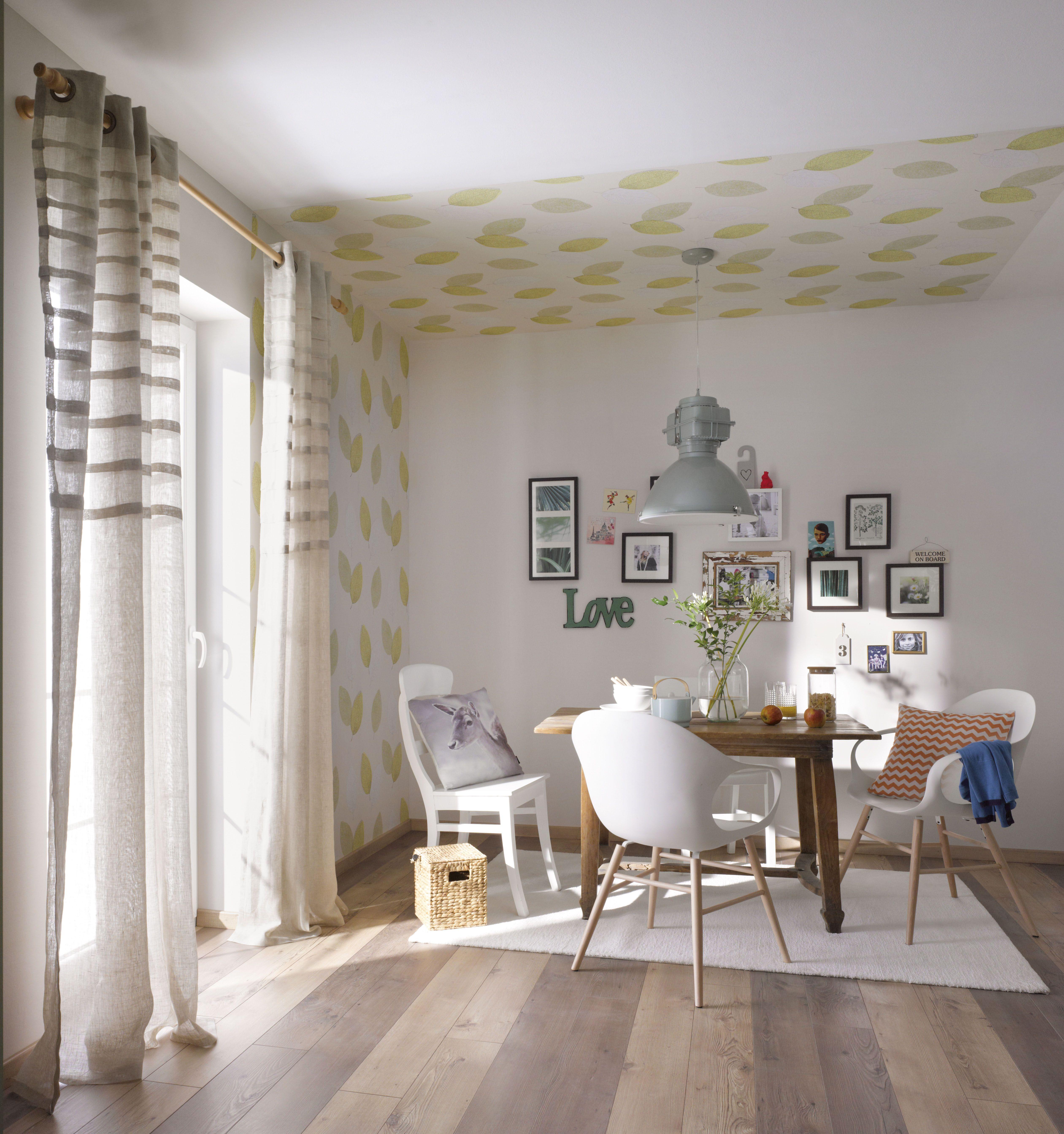 So Bringst Du Mit Tapeten, Textilien Und Deko Die Natur In Dein Zuhause:  Entdecke