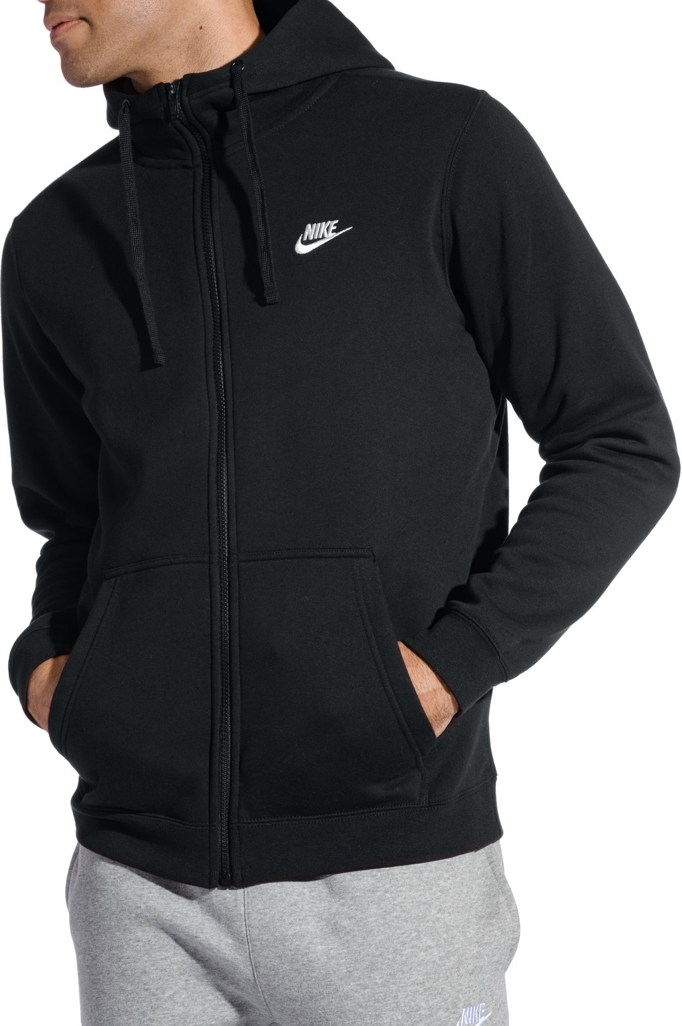 3d0334bca6df Nike Men s Sportswear Club Fleece Full Zip Hoodie