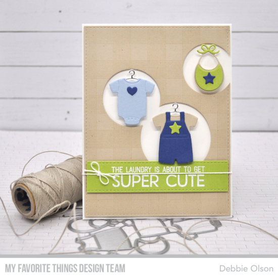 Super Cute Laundry Mft Wsc445 Baby Cards New Baby Products