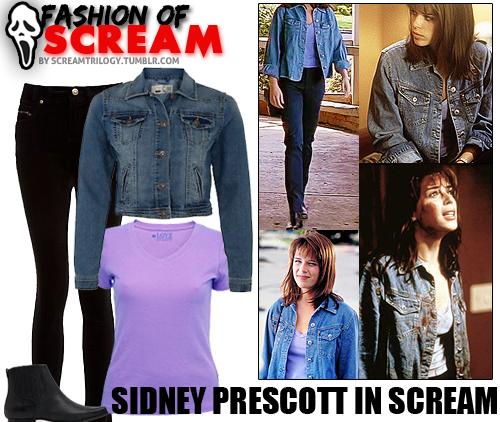 fashion of scream sidney prescott in scream want to get sidney s