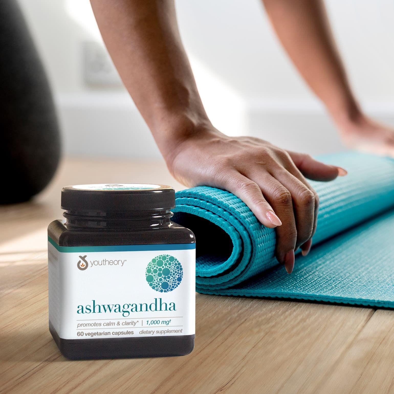 Shavasana, chaturanga, ashwagandha. Don't stress--even if you can't pronounce them, they'll keep you calm and centered. #WorldYogaDay  #LoveYoutheory #YogaDay #Yoga #Yogie #Ashwagandha #Calmness #WorkingOut #Workout #ClearMind #Calming #Clarity #MentalHealth #Chaturanga #Shavasana