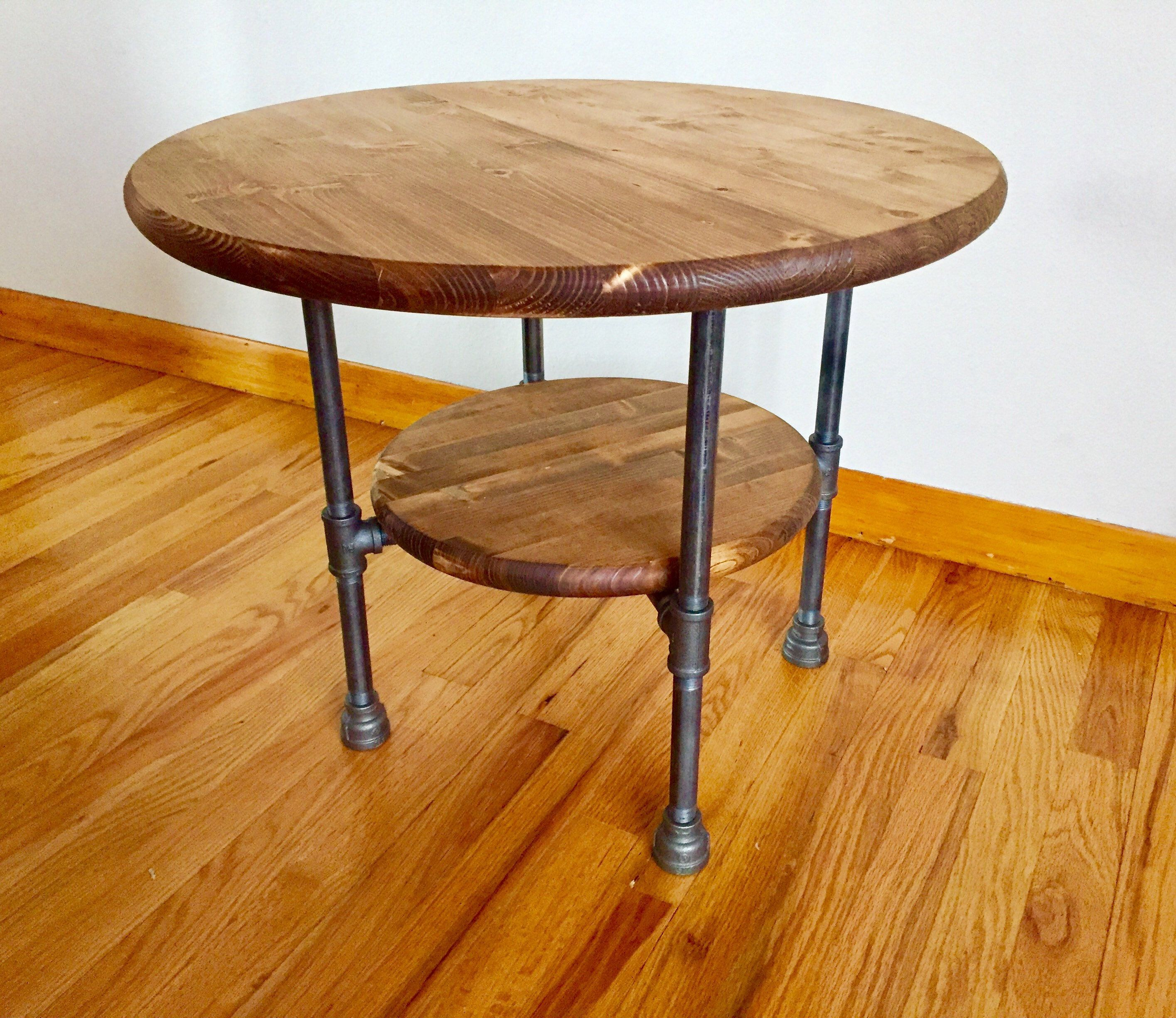 Prime Black Pipe End Table Diy Parts Kit With Optional Creativecarmelina Interior Chair Design Creativecarmelinacom