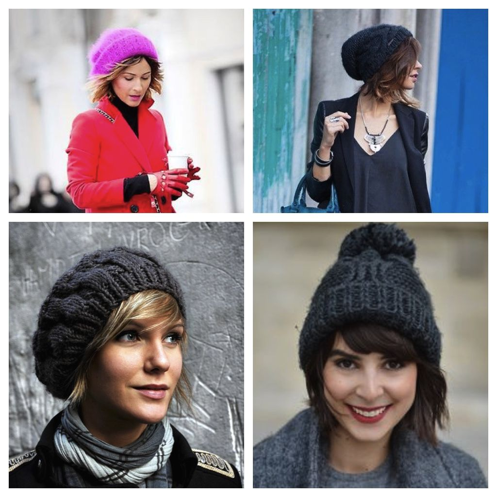 fad4ee50f47 How to wear a beanie With your Bob