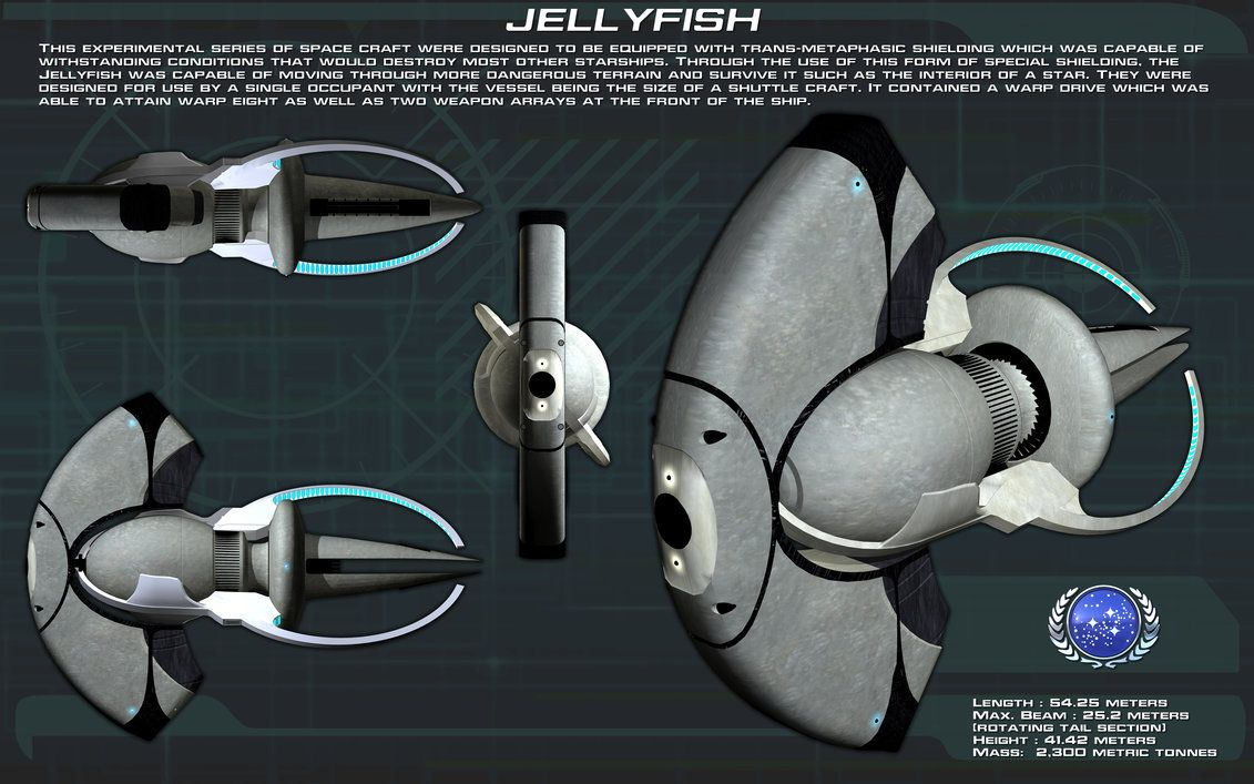 Jellyfish starship ortho [New] by unusualsuspex deviantart
