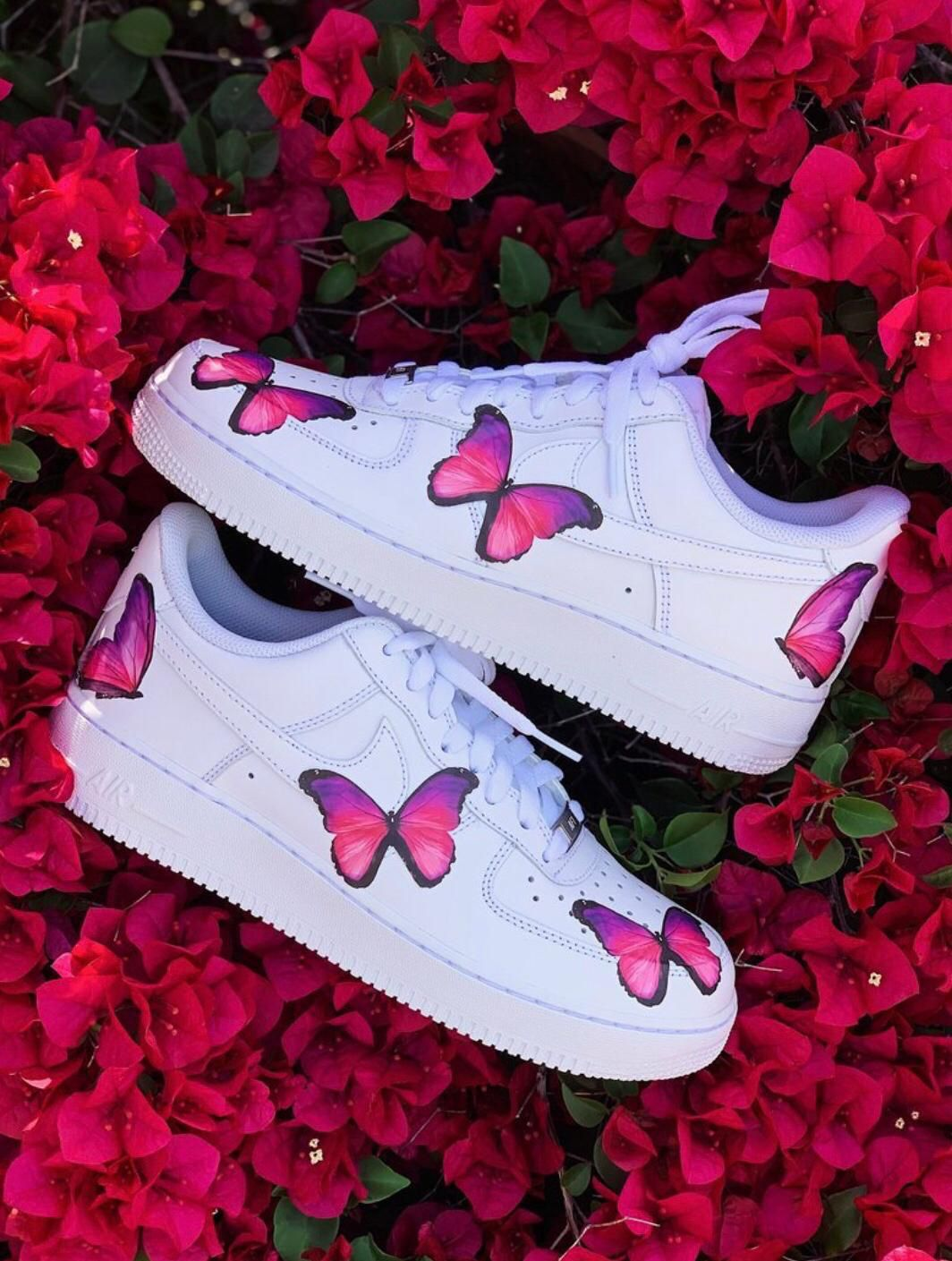 Butterfly Custom Air Force 1s