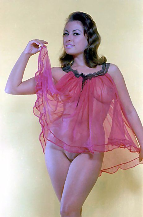 a3d063880 June in See-Through Negligee (Edit) - Thanks to Retrogirly for sharing the  original :)