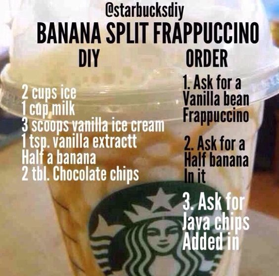 How to Make Homemade Starbucks Frappuccinos #starbuckssecretmenudrinksfrappuccino