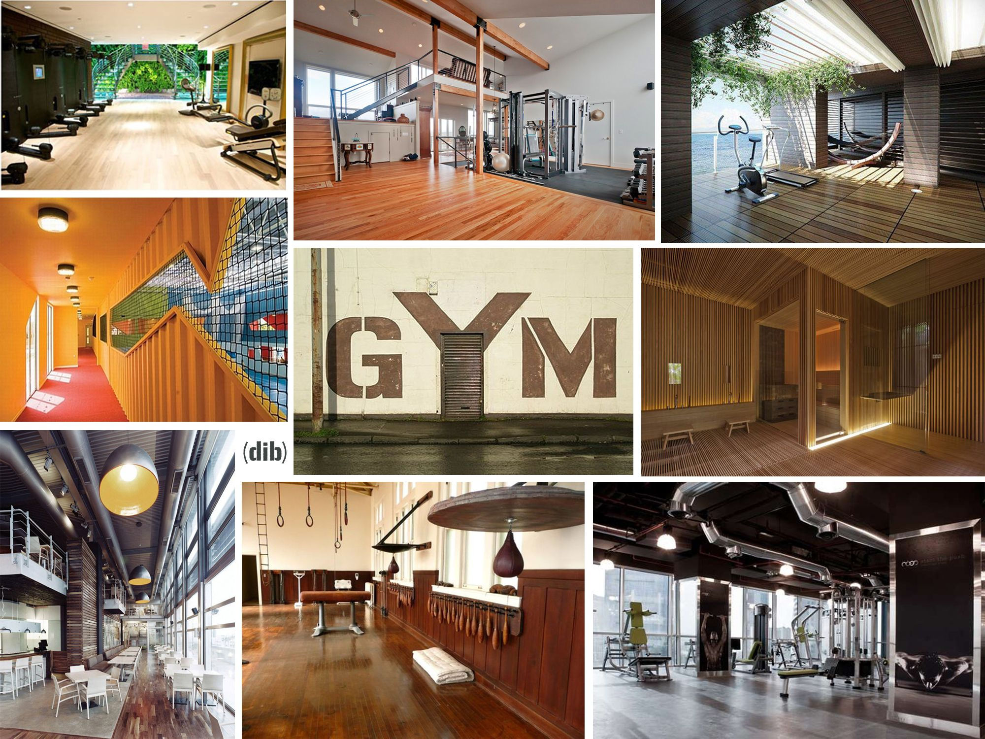Design Gyms, Picture Collage By Dise O Interior Bruto, Wwwfacebookcom