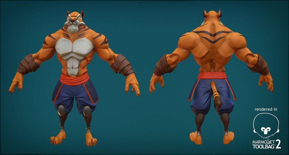 The Ultimate Collection Of Ta Moko: Anthro Tiger Rig