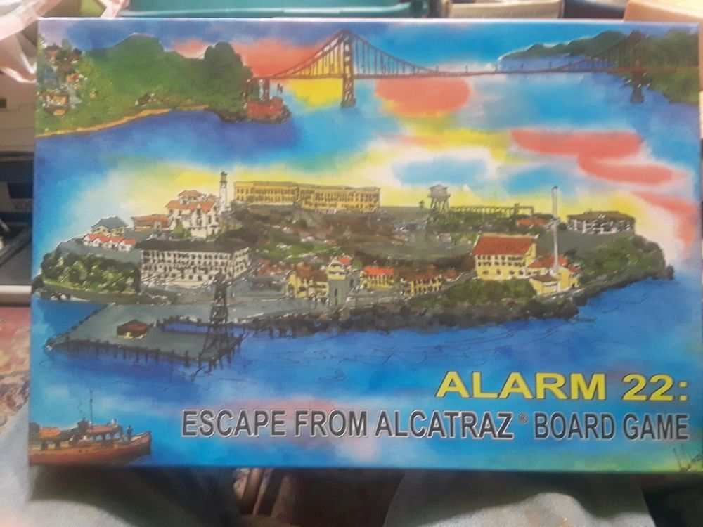 Alarm 22 Board Games Escape From Alcatraz Great Strategy Game