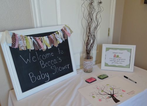 Cutiebabes.com Baby Shower Guest Book Ideas 09 #babyshower