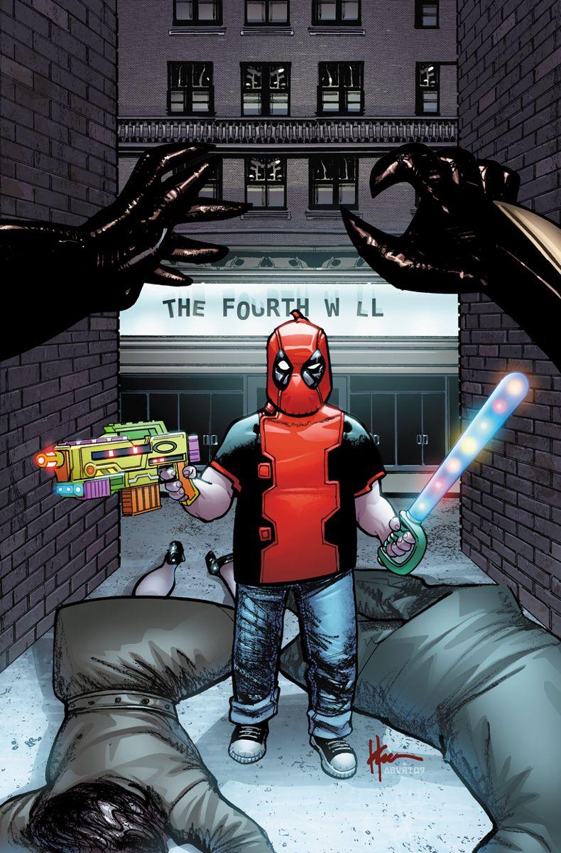 #Deadpool #Fan #Art. (Deadpool Vol.4 #8 Classic Variant Cover) By: Mike Allred & Laura Allred. ÅWESOMENESS!!!™ ÅÅÅ+