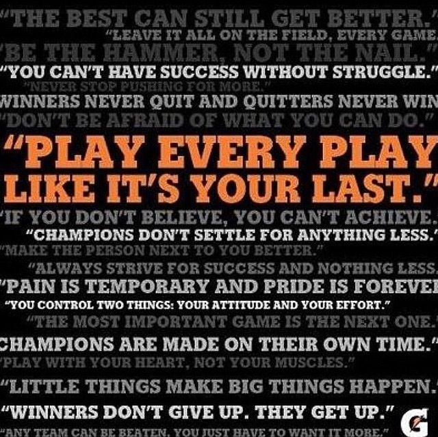 Game Day Quotes: Gatorade Sports Motivation