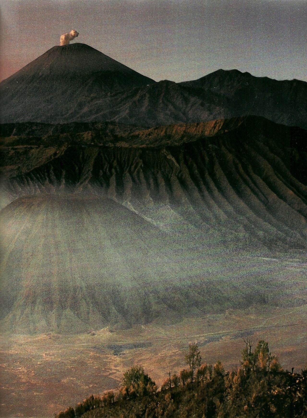 Volcano Semeru On Java National Geographic December 1992