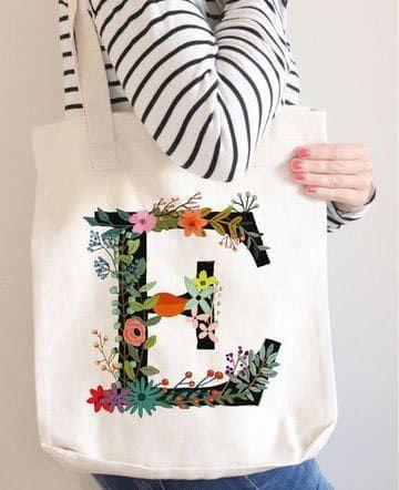 7b8242dad Modelos de bolsas de tela decoradas fáciles de hacer | manualidades ...