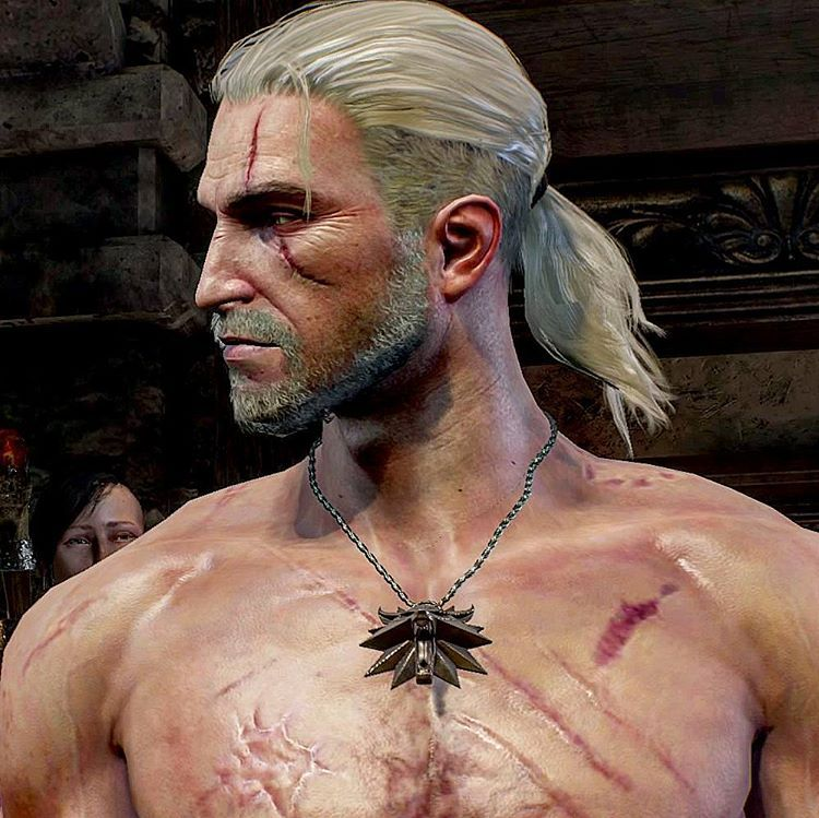 Gerald Von Riva Witcher Art The Witcher Geralt The Witcher The