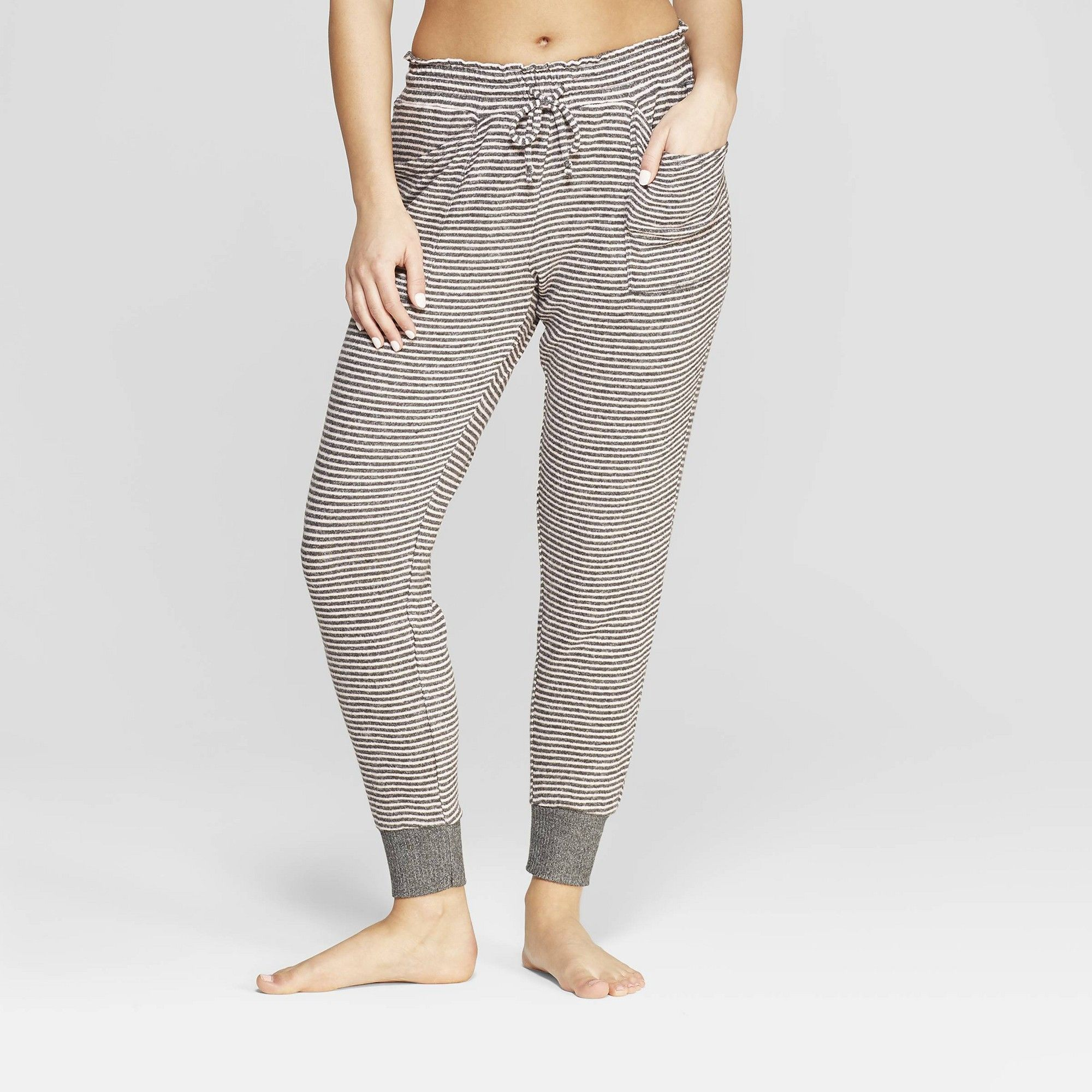 85cfc6abacf35e Women's Striped Perfectly Cozy Lounge Jogger Pants - Stars Above Gray S,  Pink