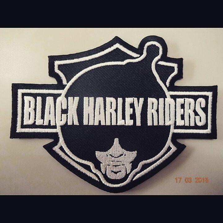 Black Harley Riders Patch Www Bhrgear Com 7 Two For 10 Or Five For 20 Harley Harley Davidson Harley Bagger