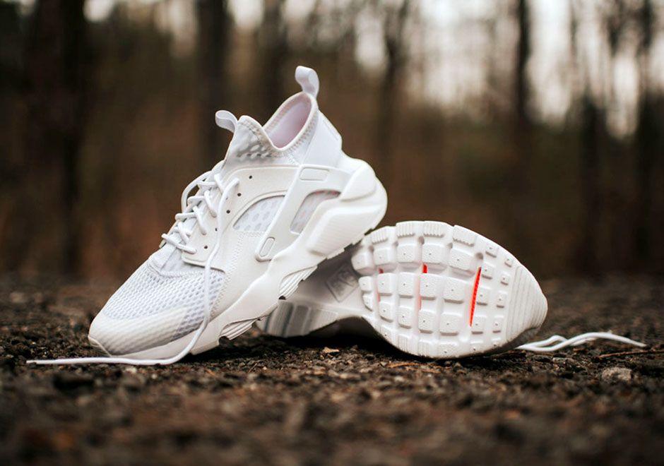 "Nike Air Huarache Ultra ""Triple White"
