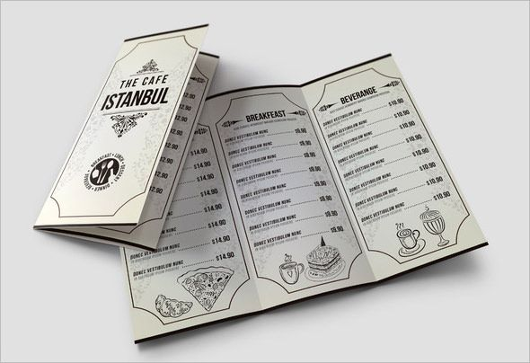 Lunch Menu Template - 32+ Free Word, PDF, PSD, EPS, InDesign - free word menu template
